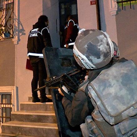 İstanbulda şafak vakti uyuşturucu operasyonu: 13 gözaltı