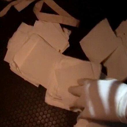 Antalya polisi ele geçirdi: Kağıda emdirilmiş uyuşturucu!