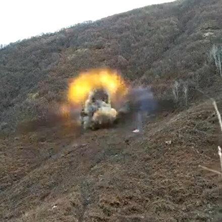 Bitlis'te 630 kilo amonyum nitrat ele geçirildi