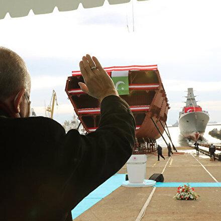 MİLGEM Projesinin 5. gemisi İstanbul Fırkateyni denize indirildi