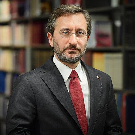 Cumhurbaşkanlığı İletişim Başkanı Fahrettin Altundan militan ifadesine tepki