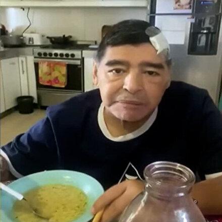 Diego Maradonanın ölmeden önceki son görüntüleri ortaya çıktı