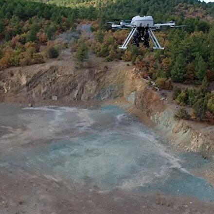 Türkiyenin ilk milli bomba atarlı droneu: Songar