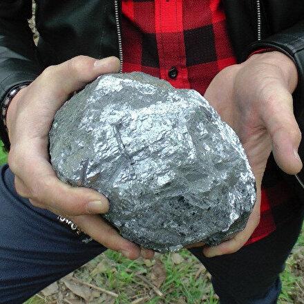 Sohbet ettikleri sırada düştü: 9.5 kiloluk taş meteor sevinci yaşadılar