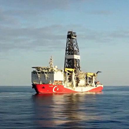 Fatih sondaj gemisi doğal gaz keşfi için yola çıktı