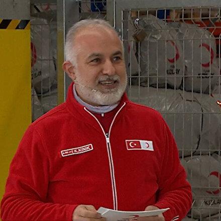 Kızılayın bağış kampanyasına Yıldız Holding Başkanı Murat Ülkerden 200 bin koli destek