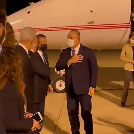 Dışişleri Bakanı Çavuşoğlundan KKTC'ye ziyaret