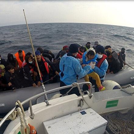 Yunanistandan insanlık dışı uygulama: 54 düzensiz göçmeni ölüme ittiler