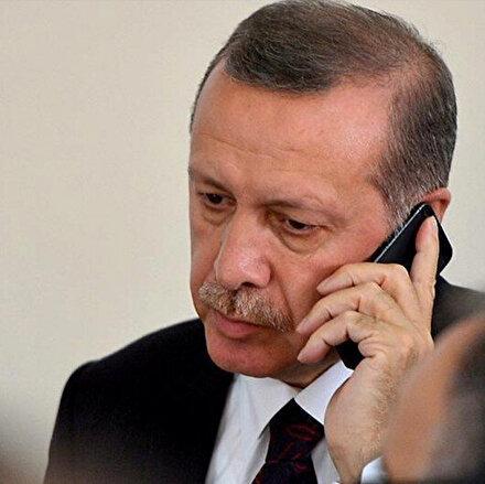 Cumhurbaşkanı Erdoğandan ülkesindeki çatışmalarda hayatını kaybeden Çad Cumhurbaşkanının oğluna taziye telefonu