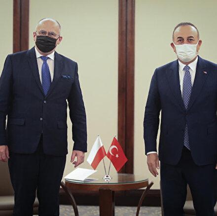 Dışişleri Bakanı Çavuşoğlu Polonyalı mevkidaşı ile görüştü: Hedefimiz 10 milyar dolarlık ticaret