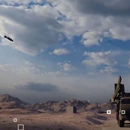 Rusyaya animasyonlu misilleme: Roketsandan tam isabet