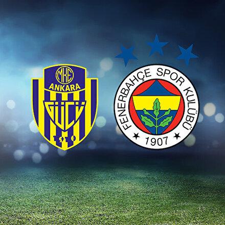 Ankaragücü-Fenerbahçe