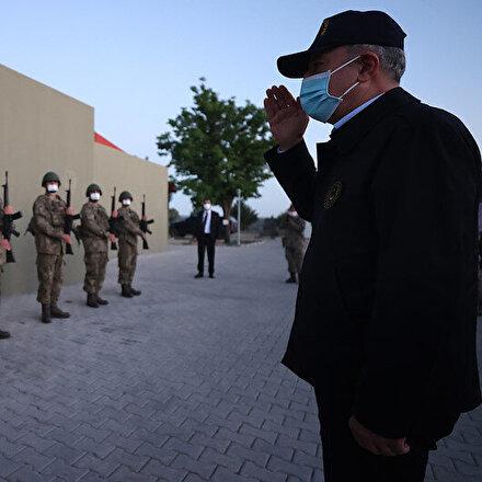 Milli Savunma Bakanı Akar: 1 Ocaktan bugüne kadar bin 56 terörist etkisiz hale getirildi