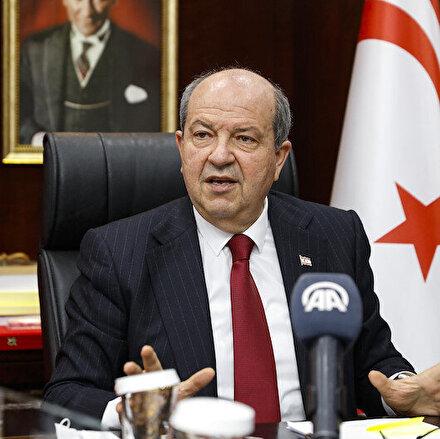 KKTC Cumhurbaşkanı Tatar: Gazzedeki vahşet Türkiyenin garantörlüğünün önemini bir kez daha ispatladı