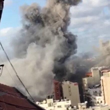 İşgalci İsrail merkezi laboratuvarı vurdu: Aşılama ve test hizmetleri askıya alındı