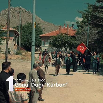 TRT 1den izleyicilerine bayram sürprizi: Gönül Dağı Kurban filmiyle geliyor