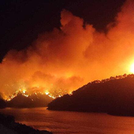 Kozanda alevler yeniden yükseldi: 23 farklı noktada yangın