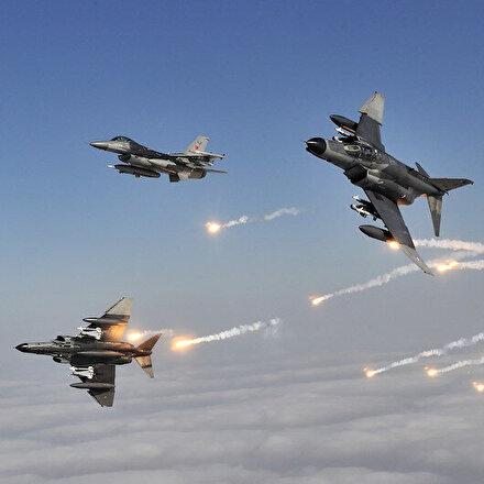 MSB: Irakın kuzeyinde 40a yakın hedef imha edildi