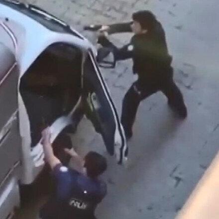 Bahçelievlerde polise silah doğrultan şahıs omzundan vurularak yakalandı