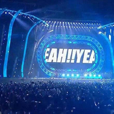Şarkıcı Pitbull Riyadh Season festivali kapsamında Suudi Arabistanda konser verdi