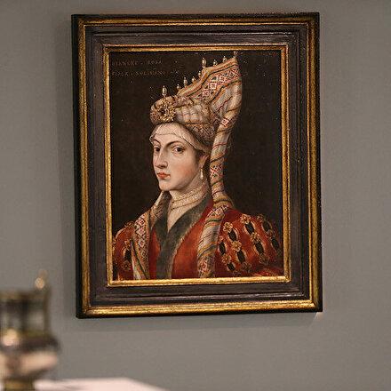 Hürrem Sultanın portresi İngilterede açık artırma ile satışa sunulacak