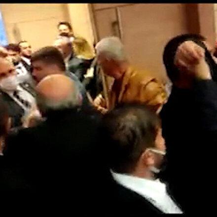 İYİ Partililer birbirine girdi: Kuruluş yıl dönümü etkinliğinde arbede