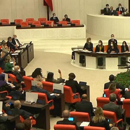 HDPli Pervin Buldan tezkereye yanlışlıkla evet dedi