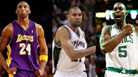 Kobe Bryant, Kevin Garnett, Tim Duncan enshrined in Basketball Hall of Fame