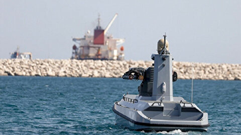 Guided missile from Turkey's armed unmanned surface vessel hits target