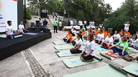 Indian embassy in Turkey marks International Day of Yoga