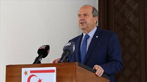 Turkish Cypriot leader to meet UN chief in Brussels