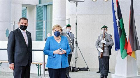 Libyan, German leaders meet in Berlin