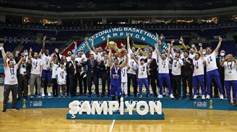 Anadolu Efes sweep Fenerbahce Beko to win Turkish basketball league title