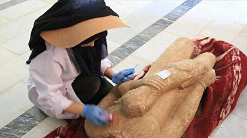2,500-year-old statues, inscription unearthed in western Turkey