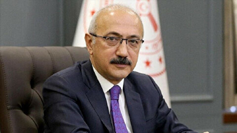 Turkish finance minister meets with Chinese investors