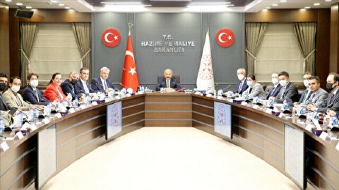 Turkey's finance minister meets with German business leaders