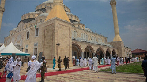 Turkish-built mosque in Ghana opened to worshippers