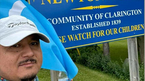 Uyghur from Canada walks 380 kilometers for his people