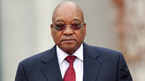 Former South African president makes virtual court appearance from prison