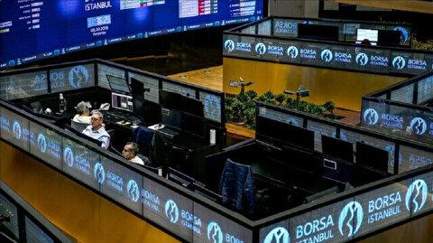 Borsa Istanbul down at Monday's close