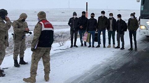 At least 113 irregular migrants held in eastern Turkey