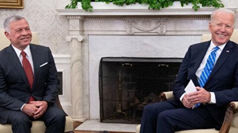 Biden hosts Jordan's King Abdullah at White House