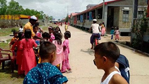 Uncertainty looms as Rohingya mark 1st Muslim holiday on remote island