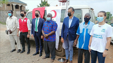 Turkish Red Crescent donates meat to South Sudan needy for Muslim holiday