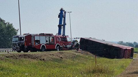 Bus crash in Croatia kills 10, injures 45
