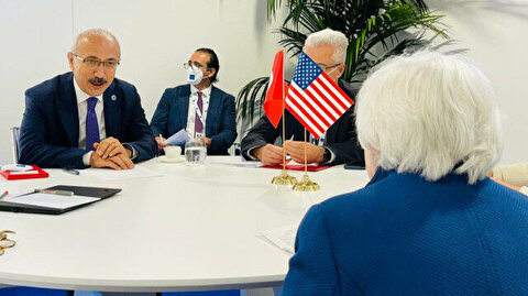 Turkish, US treasury chiefs meet in Venice