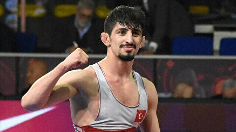 Turkish wrestler Kamal wins silver in Euro C'ships