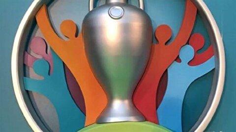 Euro 2020 logosu Londra'da tanıtıldı