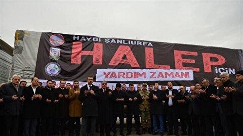 منظمات تركية ترسل مساعدات متنوعة للنازحين السوريين