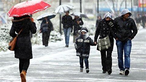 إسطنبول تستقبل الثلوج من جديد